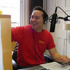 Original presenter Richie Parker behind the mic