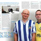 Ady & Al in the Brighton v Hull City match programme - 17 Feb 2014